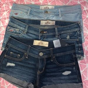 Hollister Shorts Bundle (Light, Medium, Dark)